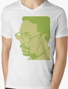 Lester Freeman Mens V-Neck T-Shirt