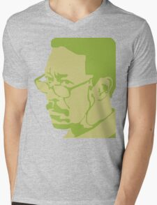 Lester Freeman Mens V-Neck T-Shirt