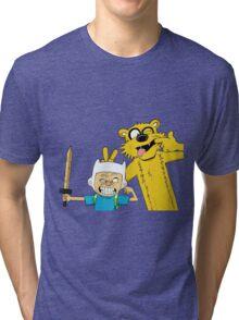 Calvin time Tri-blend T-Shirt