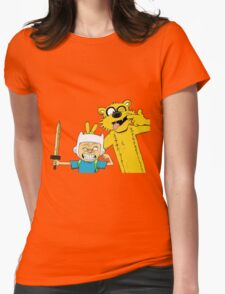 Calvin time Womens Fitted T-Shirt