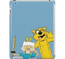 Calvin time iPad Case/Skin