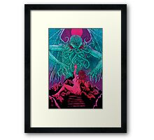 Cthulhu Blues Framed Print