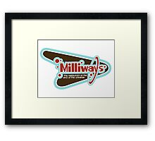 Milliways: the Restaurant at the End of the Universe Framed Print