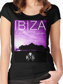 Ibiza - Chillout Sessions Purple Women's Fitted Scoop T-Shirt