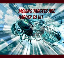 moving targets are harder to hit by DMEIERS