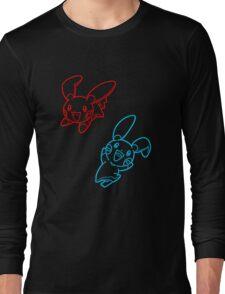 Plusle and Minun Best Friends shirt Long Sleeve T-Shirt
