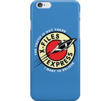 X Files Express iPhone Case/Skin