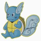 Seashell the Wartortle by ColorMyMemory
