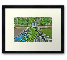 Nice Ride Framed Print