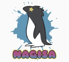 Free!  Nagisa's Penguin Tee One Piece - Long Sleeve