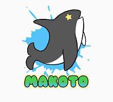 Free!  Makoto's Whale Tee Men's Baseball ¾ T-Shirt