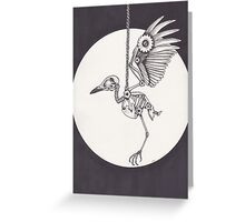 CrowBot Greeting Card