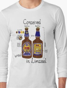 Conceived in Limassol Long Sleeve T-Shirt
