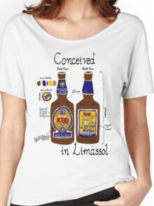 Conceived in Limassol Women's Relaxed Fit T-Shirt