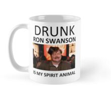 Drunk Ron Swanson is my Spirit Animal Mug