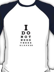 Eye Examination T-Shirt T-Shirt