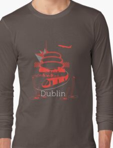 Journey With Dublin [red version] Long Sleeve T-Shirt