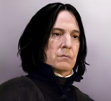 Professor Severus Snape by jht888