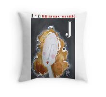 J - Girls Are Great! Throw Pillow