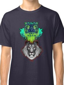 Tigers And Lions In Colour Classic T-Shirt