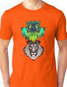 Tigers And Lions In Colour Unisex T-Shirt