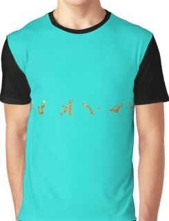 Wow Feminine Earth chevrons Golden style Graphic T-Shirt