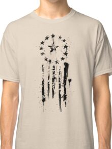 Old World Flag- Black Classic T-Shirt