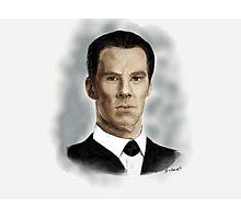 Benedict Cumberbatch as Sherlock Holmes Photographic Print