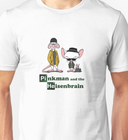 Pinkman and the Heisenbrain Unisex T-Shirt