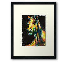 HORSE V.01 Framed Print