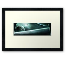 The View from Above Framed Print