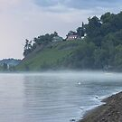 Misty Rainbow Coloured Morning by Mikell Herrick
