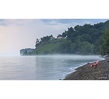 Misty Rainbow Coloured Morning Photographic Print