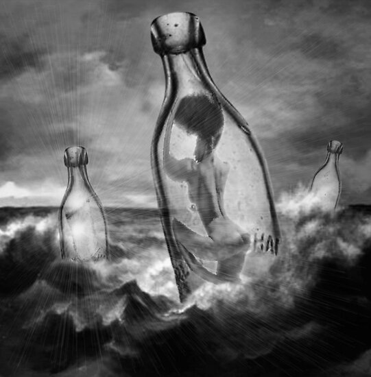Message In A Bottle by SuddenJim