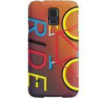 RIDE - BIKE Samsung Galaxy Case/Skin