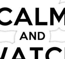Keep Calm and Watch Vampire Diaries (LS) Sticker