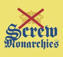 Screw Monarchies-Corona Extra T-Shirt