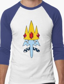 Ice King Face Men's Baseball ¾ T-Shirt