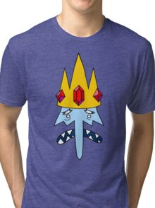 Ice King Face Tri-blend T-Shirt