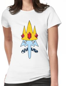 Ice King Face Womens Fitted T-Shirt