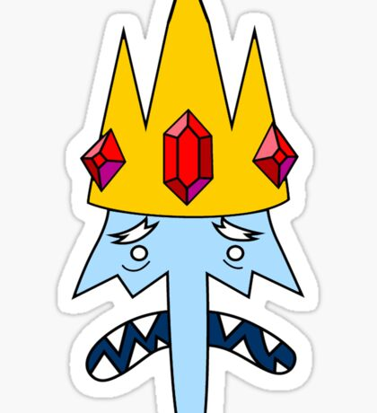 Ice King Face Sticker