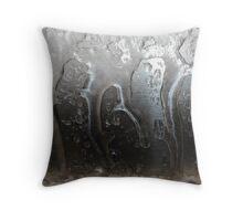ice dancers Throw Pillow