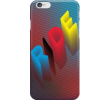 RIDE - Colorful iPhone Case iPhone Case/Skin
