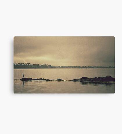 Gloomy Bay Canvas Print