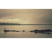 Gloomy Bay Photographic Print