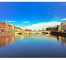Cork City Lee View 001  Photographic Print