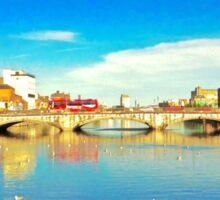 Cork City Lee View 001  Sticker