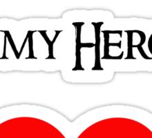 Legolas is my Hero Sticker