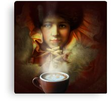 Even a picture can smell good coffee Canvas Print