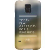 Great Day for a Bike Ride Samsung Galaxy Case/Skin